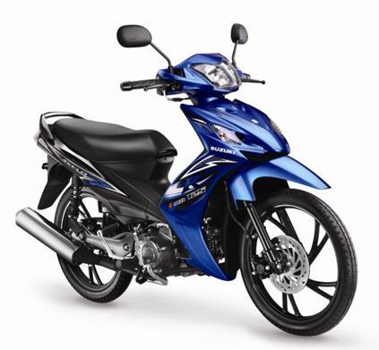 Motor Suzuki Shogun