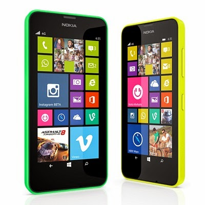 Nokia Lumia 630 dengan Windows Phone 8.1