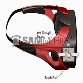 Virtual  Reality Gear Samsung