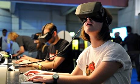 Virtual  Reality Gear Samsung