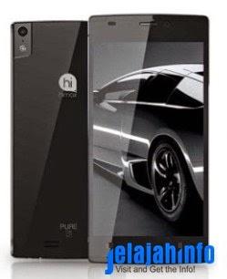 Harga dan Spesifikasi Smartphone Android Tertipis, Himax Pure S