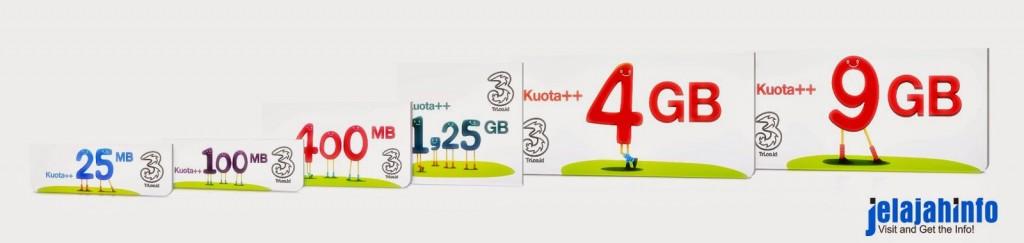 Paket Internet Murah 3 (Tri) Terbaru 2017