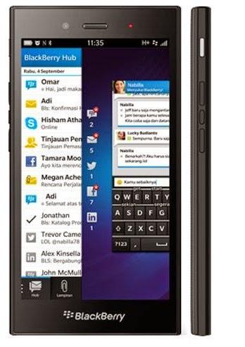 BlackBerry Z3, Spesifikasi dan Harga Terbaru 2017
