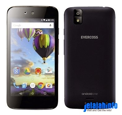 Evercoss One X, Ponsel Pintar Android One Besutan Google