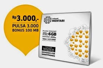 Paket Internet Murah Indosat Mentari
